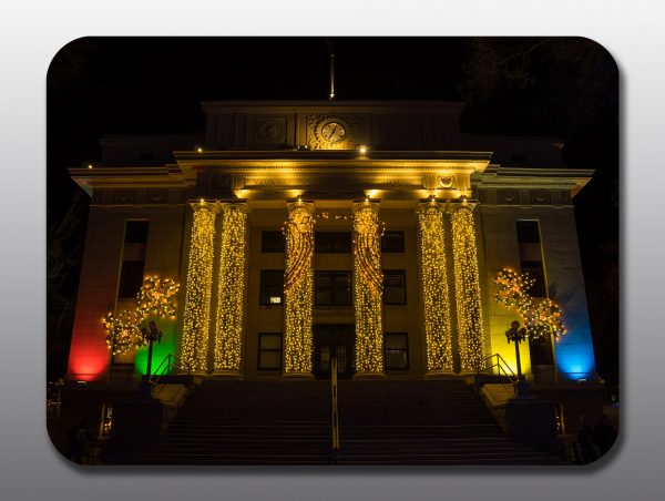Prescott Downtown Christmas - Moment of Perception Photography