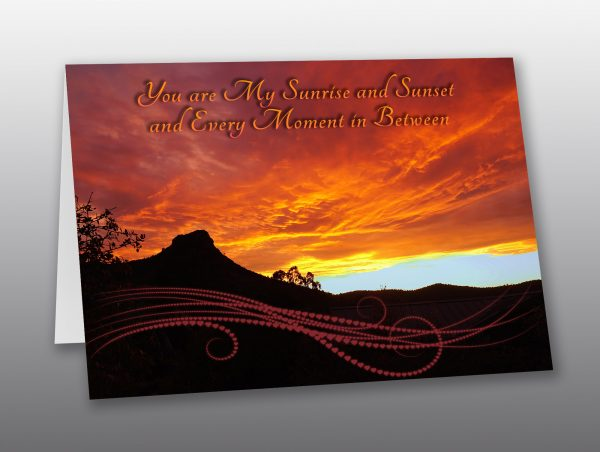 Thumb Butte Sunset Valentine - Moment of Perception Photography