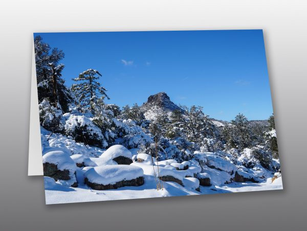 Thumb Butte Winter - Moment of Perception Photography