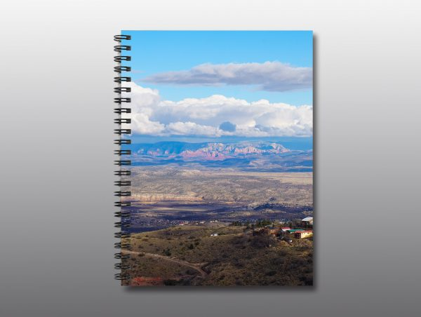 view of Sedona from Jerome - Moment of Perception Photography