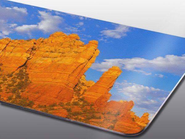 sandstone spires in Sedona - Moment of Perception Photography