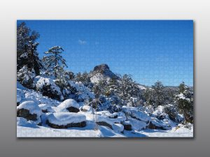 Thumb Butte in Winter - Moment of Perception Photography