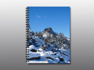 Winter Snow on Thumb Butte - Moment of Perception Photography