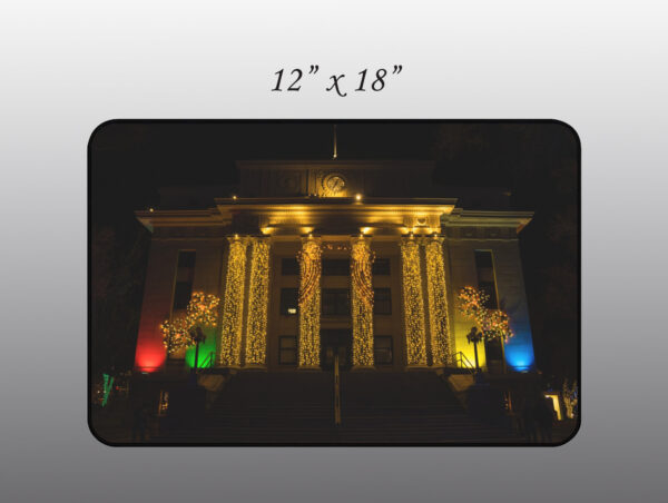 Yavapai Courthouse at Christmas - Moment of Perception Photography
