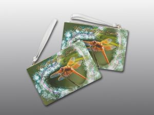 Smiling Dragonfly Valentine bag - Moment of Perception Photography