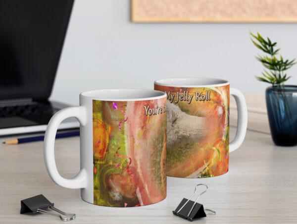Baby Alpacas Valentine mug - Moment of Perception Photography