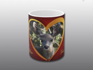 fawn valentine mug - Moment of Perception Photography