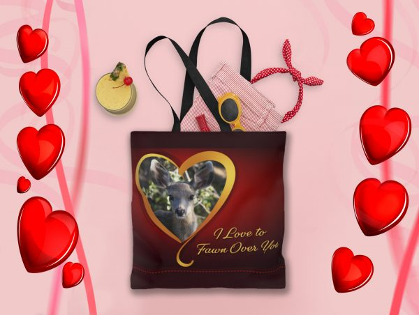 fawn valentine tote - Moment of Perception Photography