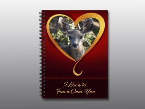 fawn valentine notebook - Moment of Perception Photography
